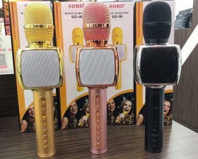 Micro Karaoke Bluetooth SD 16