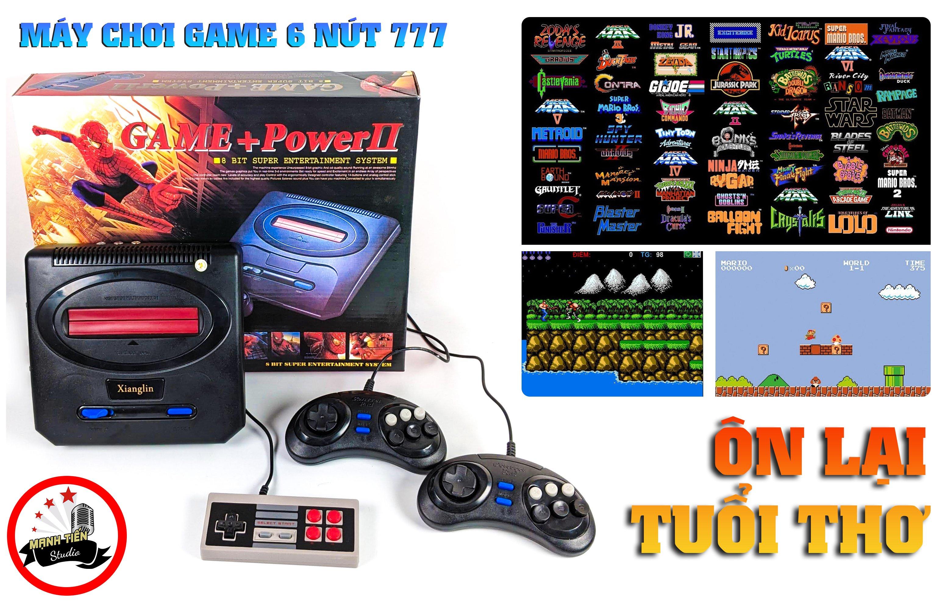 Máy chơi game 6 nút 777 - Máy chơi điện tử 6 nút 200 trò chơi Xiangling 777